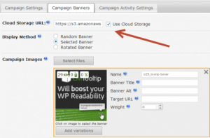 Creating your ad campaigns with the CM WordPress ads plugin